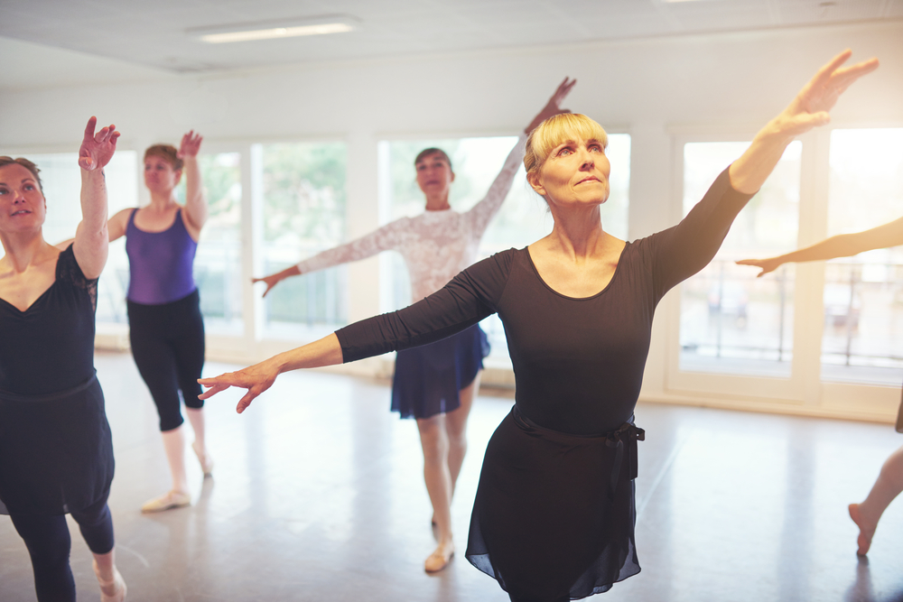 Exercise program based on ballet improves movement in MS patients